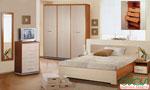 Бутикова спалня по поръчка в цвят слонова кост 49-2618