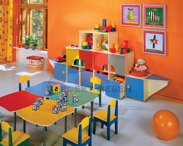 Производство на луксозни секции за детски градини по клиентс.