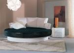 Луксозни тапицирани кръгли спални