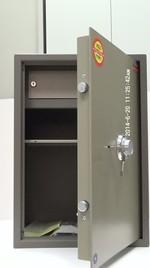 Огнеупорни сейфове за пари, с различни размери